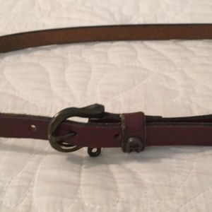 Vintage leather belt.